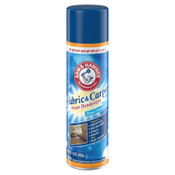 Church & Dwight Co. Fabric and Carpet Foam Deodorizer, Fresh Scent, 15 oz Aerosol, 8/CT, #CDC3320000514CT
