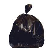 Heritage Bag Low-Density Repro Can Liner, 40-45 gal, 2 mil, 40 x 46, Black, 100/CT, #HERX8046QK