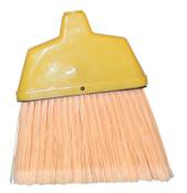Magnolia Brush Angle Brooms, 6 3/4 in Trim L, Flagged Plastic, Less Handle, 1/EA, #463LH