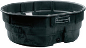 Newell Rubbermaid 50 GAL STOCK TANK BLK, 1/EA, #424300BLA