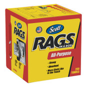 Kimberly-Clark Professional Rags in a Box, POP-UP Box, 10 x 12, White, 200/Box, 1/CT, #KCC75260CT