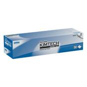 Kimberly-Clark Professional Kimtech Science Kimwipes Delicate Task Wipers, Pop-Up Box, White, 90 per box, 15/CS, #34721