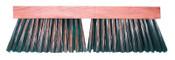 Magnolia Brush Carbon Steel Wire Street Push Broom, 16 in Hardwood Block, 3-3/4 in Trim L, 1/EA, #3916