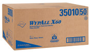 Kimberly-Clark Professional WypAll X60 Professional Towels, Flat Sheet, White;3 Packs per Box, 3/CS, #35010