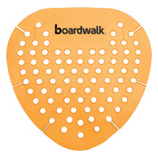 Boardwalk Gem Urinal Screen, Mango Fragrance, Orange, 12/BX, #BWKGEMMAN