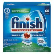 Reckitt Benckiser Powerball Dishwasher Tabs, Fresh Scent, 60 Tabs/Box, 1/CT, #RAC81158