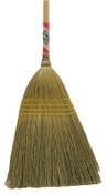 Magnolia Brush Household Brooms, 19 in Trim L, Broom Corn, 6/EA, #5017BUNDLED