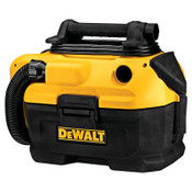 DeWalt Wet-Dry Vacuums, 2 gal, W/Hose/(2) Attachments/(2) Filters, 1/EA, #DCV581H