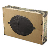 FlexSol Packaging Corp. Linear Low-Density Economy Ecosac Liners, 55 gal, 1.5 mil, 38 X 60, Black, 1/CA, #ESXECO60XH