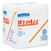 Kimberly-Clark Professional WypAll L30 Wipers, White, 90 per pack, 12/CA, #5812