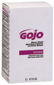 Gojo RICH PINK Antibacterial Lotion Soaps, Citrus, Bag-in-Box, 2,000 mL, 4/EA, #722004