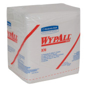Kimberly-Clark Professional WypAll X70 Workhorse Rags, 1/4 Fold, White, 76 per pack, 12/CA, #41200