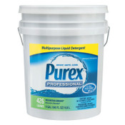 PUREX Concentrate Liquid Laundry Detergent, Mountain Breeze, 5 gal. Pail, 1/EA, #DIA06354