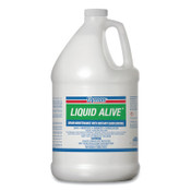 ITW Pro Brands LIQUID ALIVE Drain Maintenance, Enzyme Producing Bacteria, 1 gal, Bottle, 4/CA, 1/CA, #23301