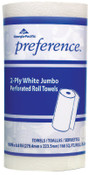 Georgia-Pacific Preference Perforated Paper Towels, White, 85 Sheets/Roll, 1/CA, #GPC27385