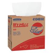 Kimberly-Clark Professional WypAll X80 Towels, Pop-Up Box, Cotton White, 80 per box, 1/BX, #41048