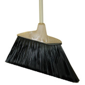 Magnolia Brush Angle Brooms, 6 3/4 in Trim L, Flagged Plastic, 1/EA, #463