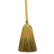 Boardwalk Maid Broom, Mixed Fiber Bristles, 55 in Wood Handle, Natural, 12/CT, #BWK920YCT