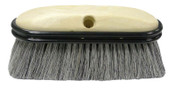 Weiler Truck Wash Brushes, 9 1/2 in Foam Block, 2.5 in Trim, Flagged Grey Fiber Fill, 1/EA, #44318