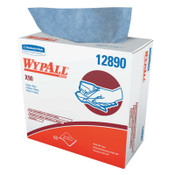 Kimberly-Clark Professional WypAll X90 Towels, 8 3/10 in x 16 4/5 in, Blue, 340/CA, #12890