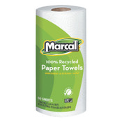 MARCAL PAPER 100% Recycled Roll Towels, 9 x 11, 60 Sheets, 15/CT, #MRC6709
