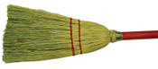"""Anchor Products Toy Broom, 22"""" Wood Handle, Corn Blend, 12/BDL, #TM1"""