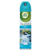 Reckitt Benckiser 4 in 1 Aerosol Air Freshener, Fresh Waters, 8 oz Aerosol, 12/CT, #RAC77002