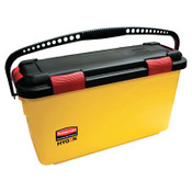 RUBBERMAID COMMERCIAL PROD. HYGEN Charging Bucket, Yellow, 3/CT, #RCPQ95088YW
