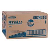 Kimberly-Clark Professional WypAll X80 Foodservice Towel, Kimfresh Antimicrob Hydroknit, 12.5 x 23.5, 1/CA, #6280