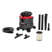 Ridge Tool Company 16 Gallon NXT Wet/Dry Vac with Detachable Blower, 1/EA, #62723