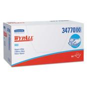 Kimberly-Clark Professional WypAll X60 Wipers, Flat Sheet, 12 1/2 x 16 4/5, White, 150/Box, 1/CA, #34900