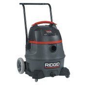 Ridge Tool Company Smart Pulse Wet/Dry Vac, 14 gal, 6.5 hp, 1/EA, #50373