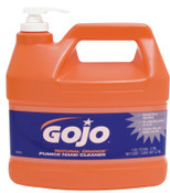 Gojo Natural Orange Pumice Hand Cleaners, Citrus, Bottle w/Pump, 1 gal, 4/BTL, #95504