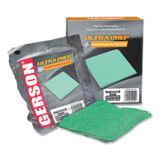 Gerson Ultra PrepTM Tack Cloth, Green, 18 in x 18 in, 10 ea/box, 10/BX, #020008G