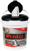 Kimberly-Clark Professional WypAll Wipers in a Bucket, White, 220 per bucket, 2 bucket/ca, 1/CA, #83561