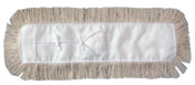 Boardwalk Industrial Dust Heads, 4-Ply Cotton; Synthetic Back, 24 x 5, 1/EA, #BWK1324