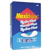 Hospeco Maxithins Maxi Pads, 250/CA, #HOSMT4