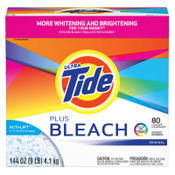 Procter & Gamble Tide Laundry Detergents with Bleach, 144 oz Box, 1/CA, #PGC84998CT