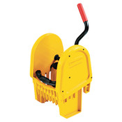 RUBBERMAID COMMERCIAL PROD. WaveBrake Down-Press Wringer, Yellow, 1/EA, #FG757588YEL