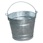 Magnolia Brush 10QT GALVANIZED WATER PAIL, 12/EA, #10PAIL