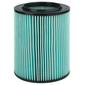 Ridge Tool Company 5-Layer HEPA Filter For Wet/Dry Vacuums, For 5-20 Gallon Wet/Dry Vacuums, 1/EA, #97457