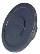 Newell Rubbermaid Brute Round Container Lids, For 10 Gal. Brute Round Containers, 16 in, 1/EA, #260900GRAY