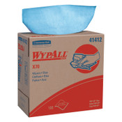 Kimberly-Clark Professional WypAll X70 Workhorse Rags, Pop-Up Box, Blue, 10/CA, #41412