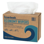 Boardwalk Scrim Wipers, 4-Ply, White, 9 3/4 x 16 3/4, 1/CT, #BWKE025IDW