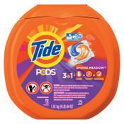 Procter & Gamble Detergent Pods, Spring Meadow Scent, 4/CT, #PGC50978CT
