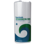 BOARDWALK PAPER Boardwalk Green Household Roll Towels, 2-Ply, White, 9 x 11, 100 Sheets/Roll, 30/CT, #BWK6277