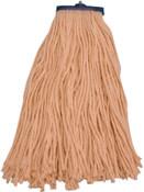 Magnolia Brush Magnolia Brush Mop Heads, Sta-Flat, 24 oz, 4 Ply Cotton Yarn, 12/EA, #6224