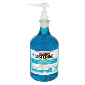 JOHNSON & JOHNSON Listerine Cool Mint Mouthwash, 1 Gallon Pump, 2/CT, #PFI524275000CT