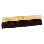 Boardwalk Floor Brush Head, 18 in Wide, Maroon, Heavy Duty, Polypropylene Bristles, 1/EA, #BWK20318