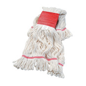 Boardwalk Super Loop Wet Mop Head, Cotton/Synthetic, Large Size, White, 12/CT, #BWK503WHCT